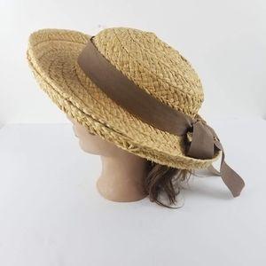 Helen Kaminski Handmade Madagascar Raffia Hat